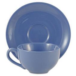 Amsterdam Tea Cup & Saucer - Cadet Blue