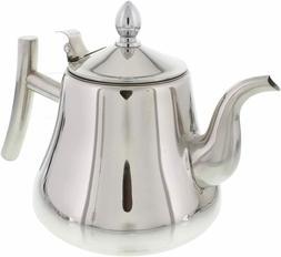 Tea Kettle 1L, 1.5L, 2L Liter Stove-top Strainer Heavy Gauge