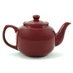 Amsterdam 6 Cup Teapot - Burgandy