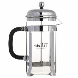 Teapot French Coffee Press + Replacement Filters 32oz / 1000