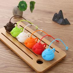 Teapot-Shape Kitchen & Dining Strainer Tea Leaf Filter Diffu