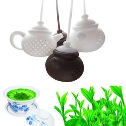 Teapot-Shape Kitchen & Dining Tea Leaf Filter Strainer Diffu