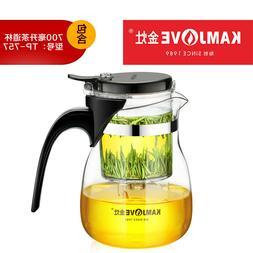 TP-757 Kamjove Art Tea Cup * Mug & Tea Pot 700ml Glass Gongf