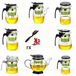 Various Kamjove Glass Kungfu Teapot PiaoYi Bei Press AUTO-OP
