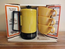 Vintage EMPIRE Mugwump 3 Cup Hot Cup / Coffee, Soup, Tea Pot