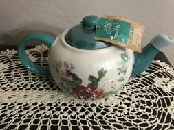 Pioneer Woman 45oz Flea Market Ceramic Stoneware Teapot