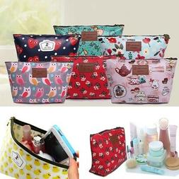 Women Makeup Carry Bag Cosmetic Case Storage Holder Handle T